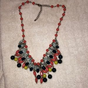 Cute Colorful Statement Piece Necklace